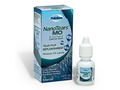 NanoTears® MO Emollient Lubricant Gel Drops is a unique innovation in Dry Eye Therapy.